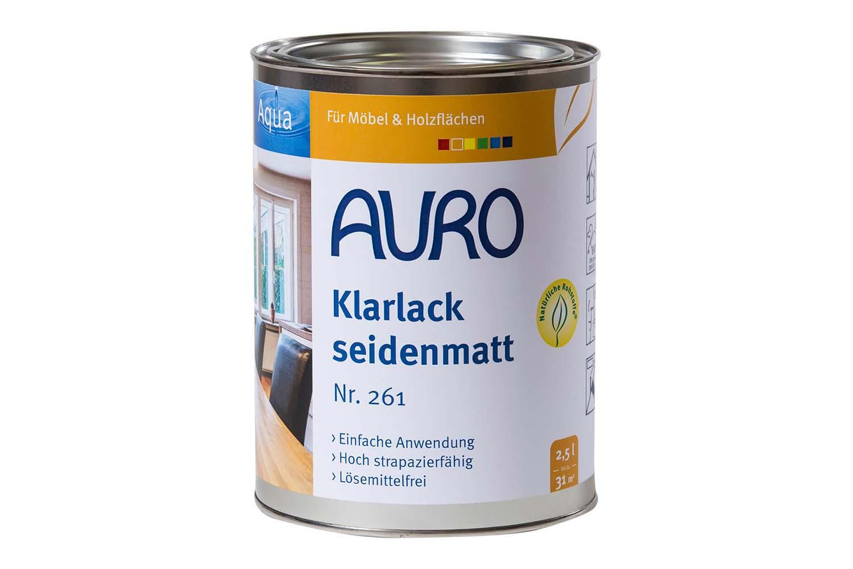 Auro Klarlack seidenmatt Nr. 261