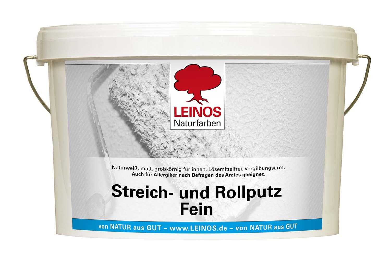 Leinos Streich- und Rollputz 685 Fein