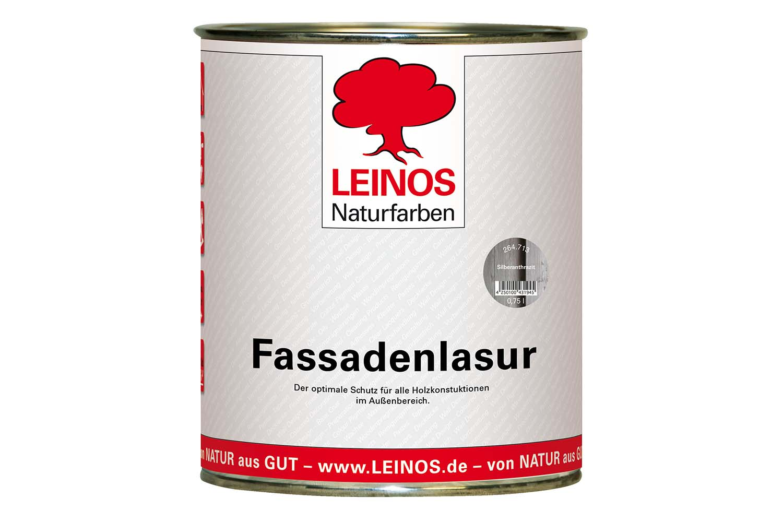 Leinos Fassadenlasur 264 Silberanthrazit