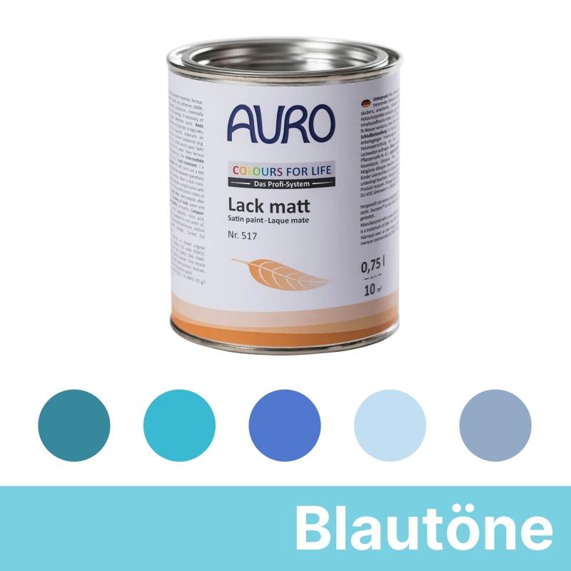 Auro Colours for Life Lack matt - Blau