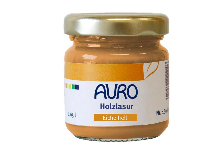 Auro Holzlasur Aqua Nr. 160 - Eiche hell