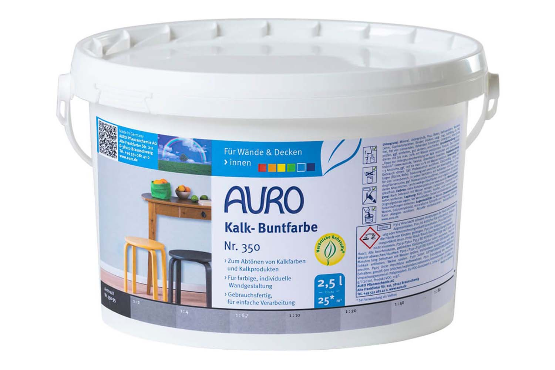 Auro Kalk-Buntfarbe Nr. 350 - Anthrazit