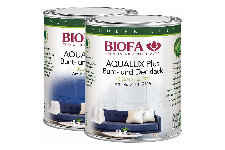 Biofa AQUALUX Plus Decklack innen, seidenglänzend