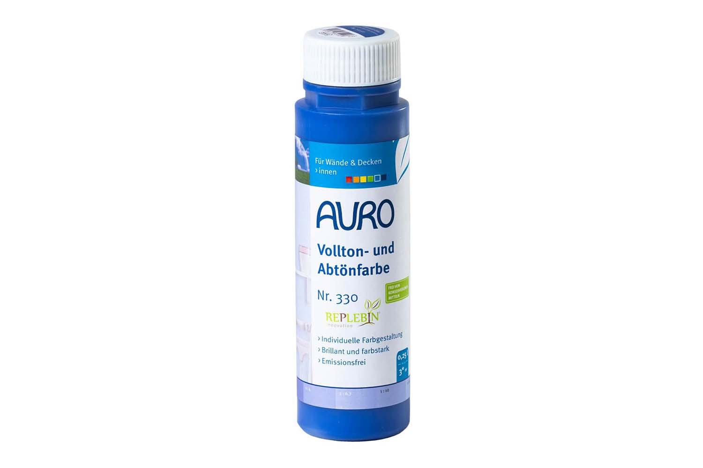Auro Vollton- und Abtönfarbe Nr. 330 - Ultramarin-Blau