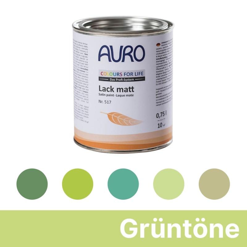 Auro Colours for Life Lack matt - Grün
