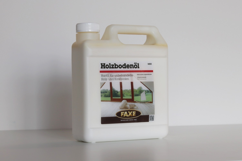 FAXE Holzbodenöl weiß