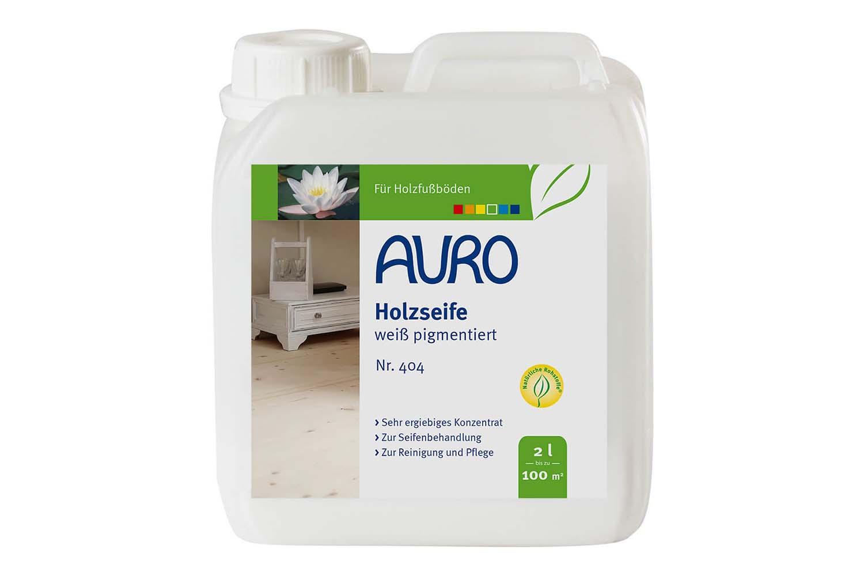 Auro Holzseife-Weiß pigmentiert Nr. 404