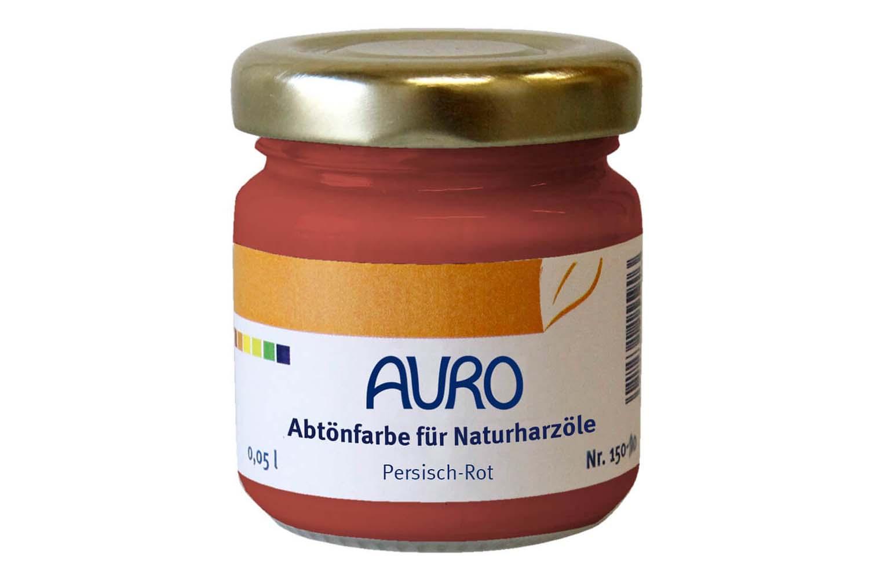 Auro Abtönfarbe für Naturharzöle Nr. 150 - Persisch-Rot