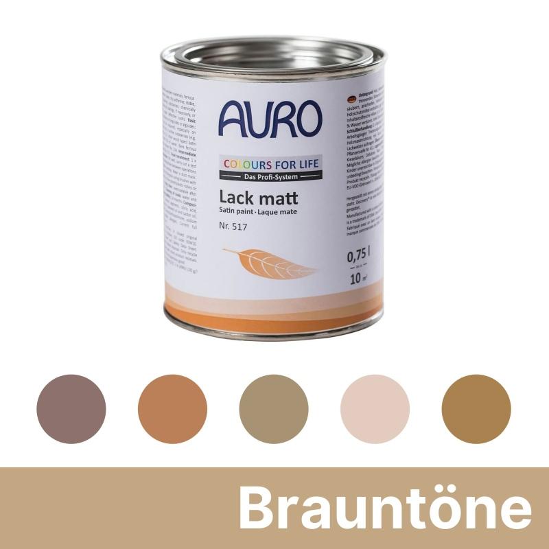 Auro Colours for Life Lack matt - Braun