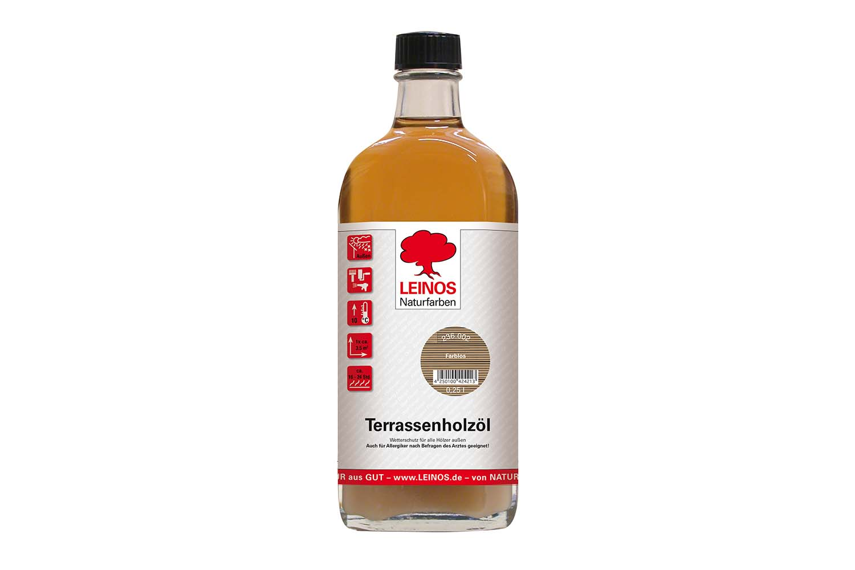 Leinos Terrassenholzöl 236 Farblos