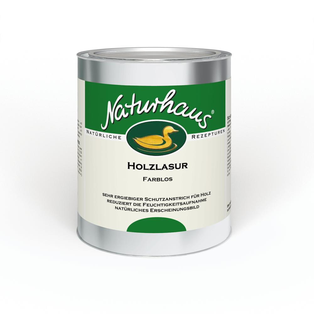 Naturhaus Holzlasur farblos