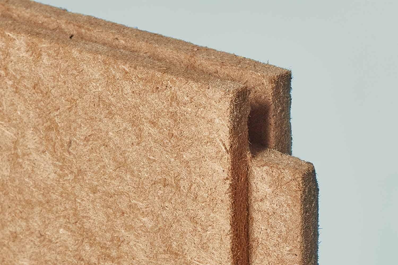 Claytec HFA Holzfaserausbauplatte N+F D=20 mm 0,60 × 1,35 m