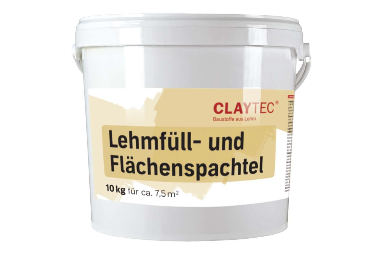 Claytec Lehm Füll- und Flächenspachtel natur-hell