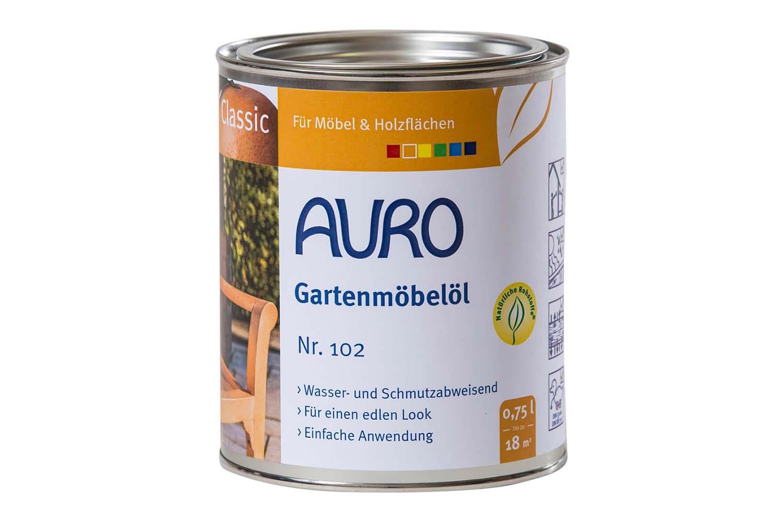 Auro Gartenmöbelöl Classic Nr. 102 - Bangkirai