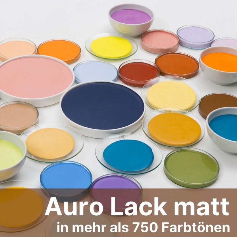 Auro Lack matt Colours For Life