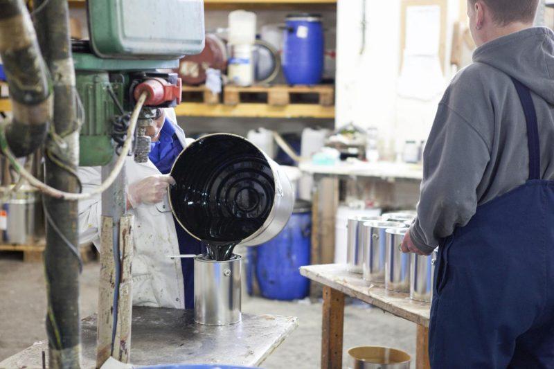 Produktion von Naturhaus
