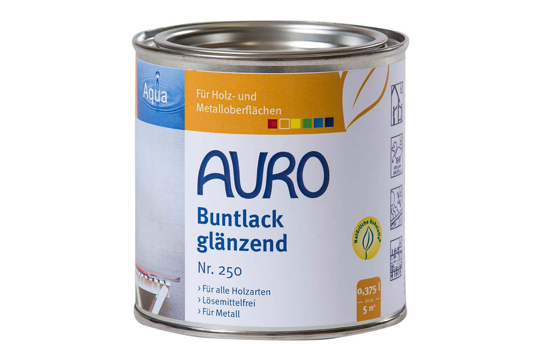 Auro Buntlack glänzend Nr. 250 - Schwarz
