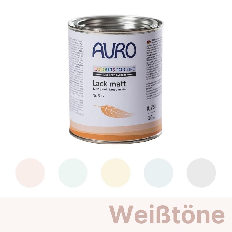 Auro Colours for Life Lack matt - Weiß